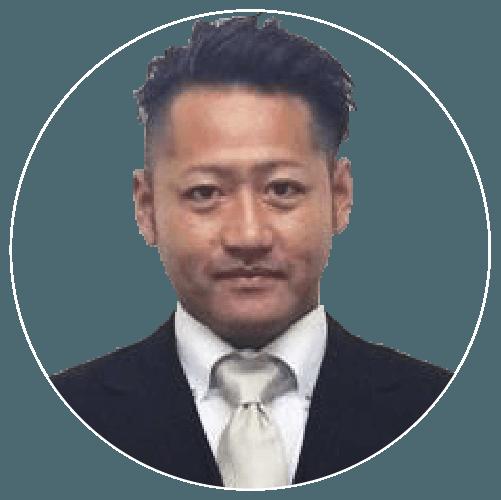 取締役社長、長谷部豪の写真
