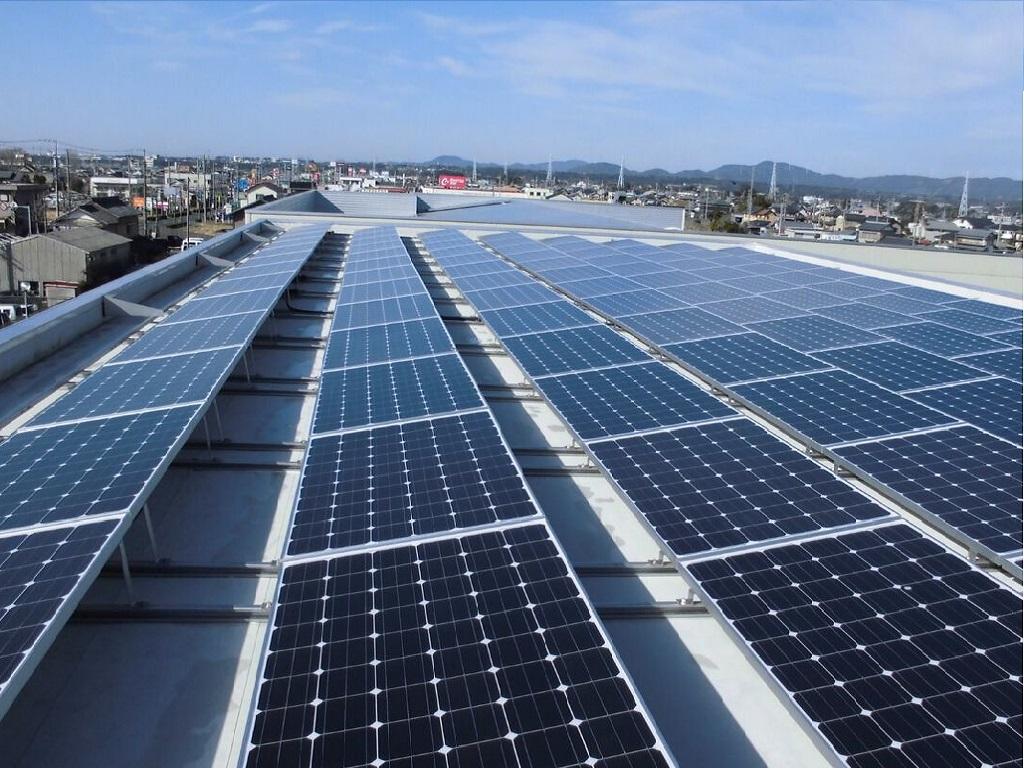 産業用太陽光システム